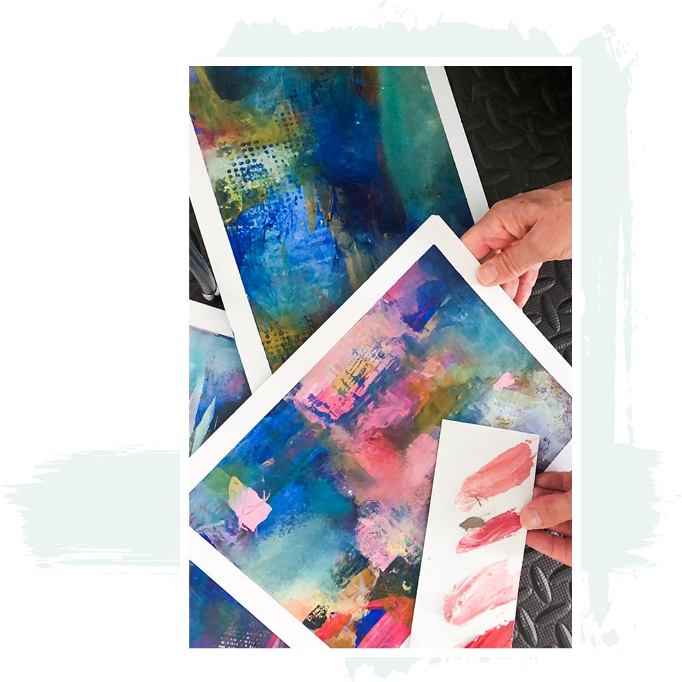 in person abstract painting courses