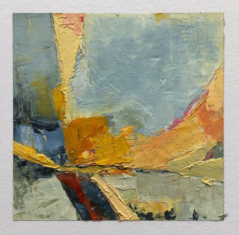 Abstract painting and free painting giveaway